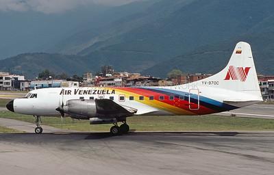 YV-970C | Convair CV-580 | Air Venezuela