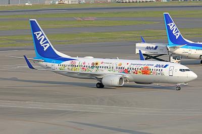 JA85AN   Boeing 737-881   ANA - All Nippon Airways