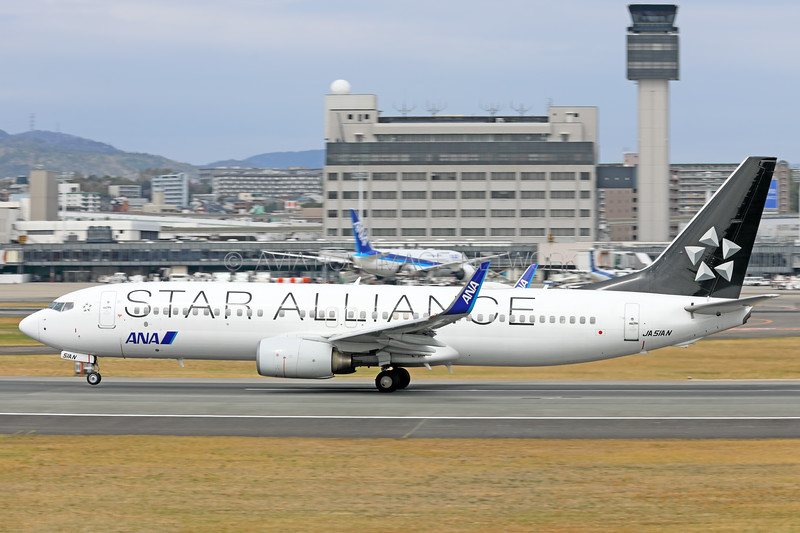 JA51AN | Boeing 737-881 | ANA - All Nippon Airways