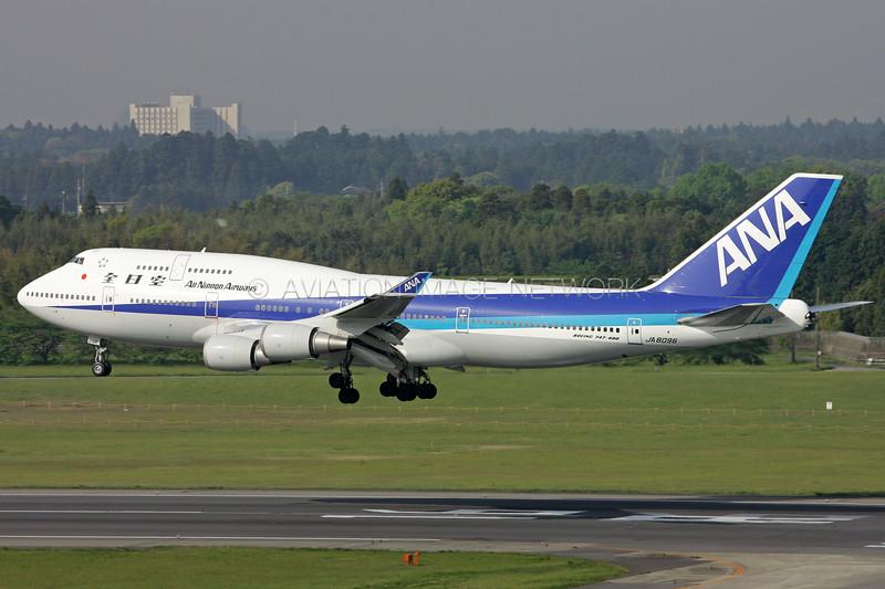 JA8096 | Boeing 747-481 | ANA - All Nippon Airways