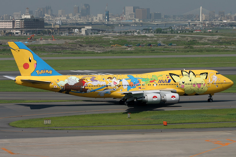 JA8957 | Boeing 747-481D | ANA - All Nippon Airways