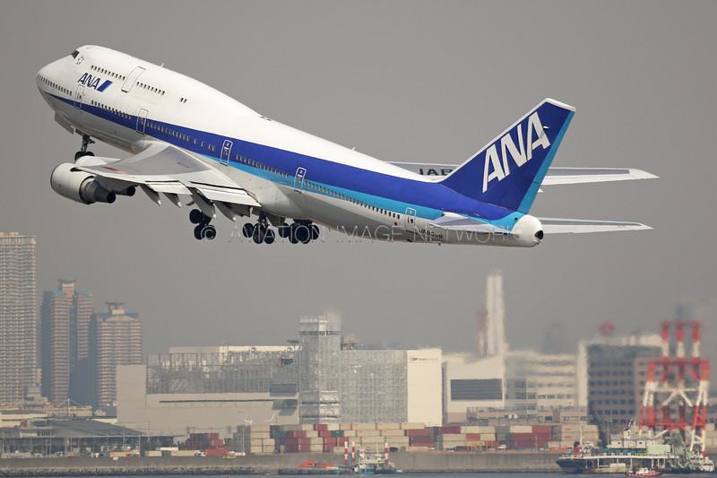 JA8959 | Boeing 747-481D | ANA - All Nippon Airways