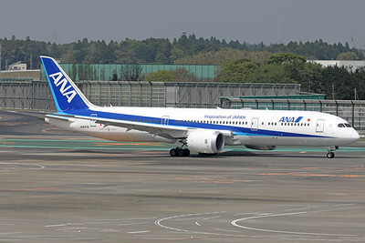 JA837A | Boeing 787-9 | ANA - All Nippon Airways