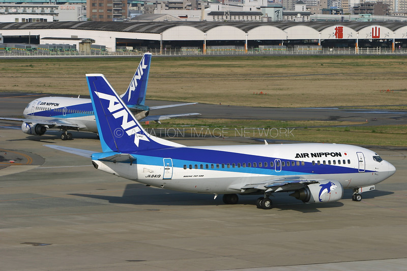 JA8419   Boeing 737-54K   ANK - Air Nippon