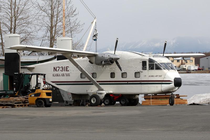 N731E | Short SC7 Skyvan | Alaska Air Taxi