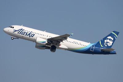 N837VA   Airbus A320-214   Alaska Airlines