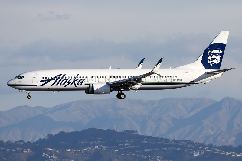 N487AS | Boeing 737-990/ER | Alaska Airlines