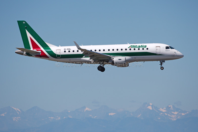 EI-RDL | Embraer ERJ-175STD | Alitalia