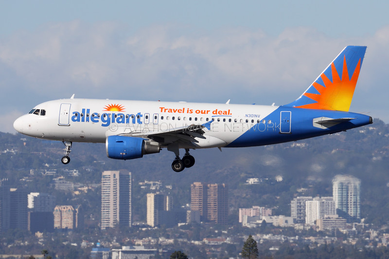 N301NV   Airbus A319-112   Allegiant Air