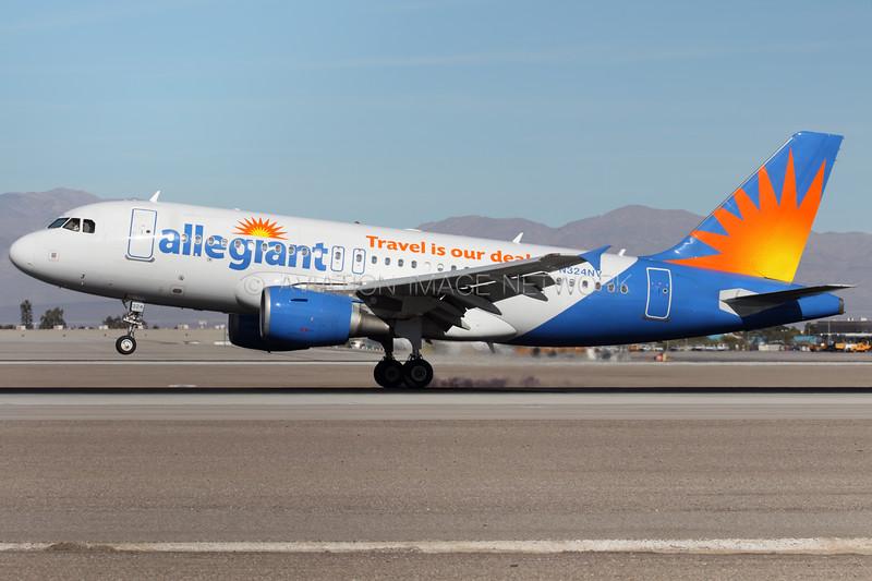 N324NV | Airbus A319-112 | Allegiant Air