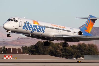 N884GA | McDonnell Douglas MD-83 | Allegiant Air