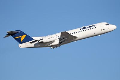 VH-JFE   Fokker 70   Alliance Airlines