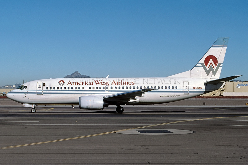 N156AW | Boeing 737-3G7 | America West Airlines