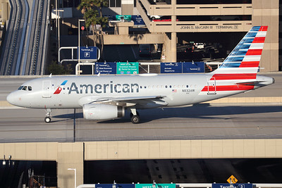 N832AW  Airbus A319-132   American Airlines