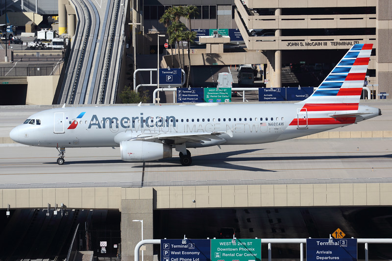 N680AW | Airbus A320-232 | American Airlines