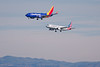N661AW | N7836A | Airbus A320-232 | Boeing 737-7L9 | American Airlines | Southwest Airlines