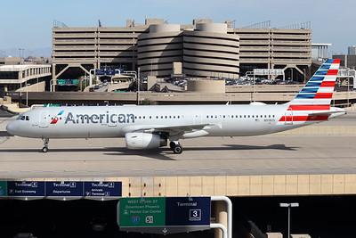 N918US   Airbus A321-231   American Airlines