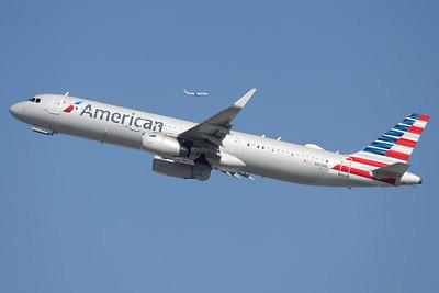N103NN   Airbus A321-231   Boeing 737-823    American Airlines