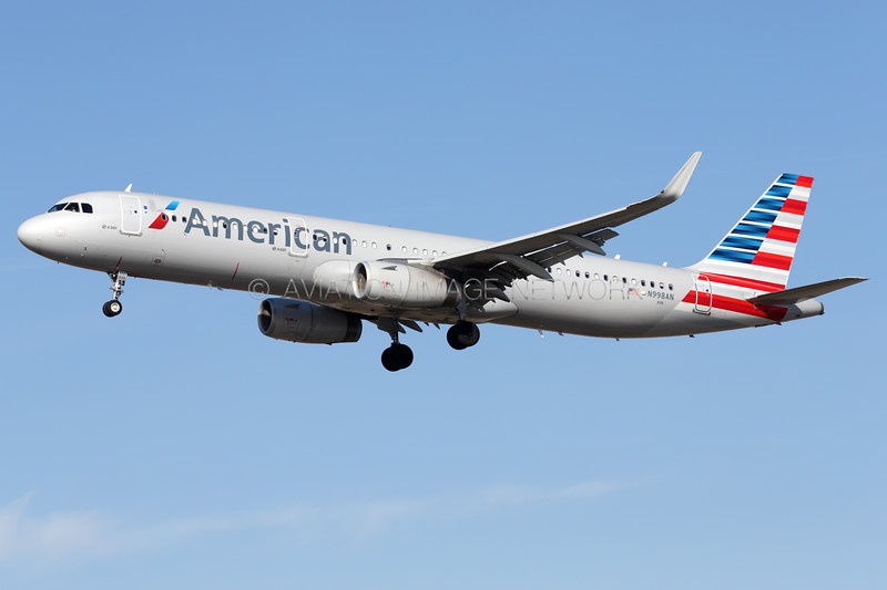 N998AN | Airbus A321-231 | American Airlines
