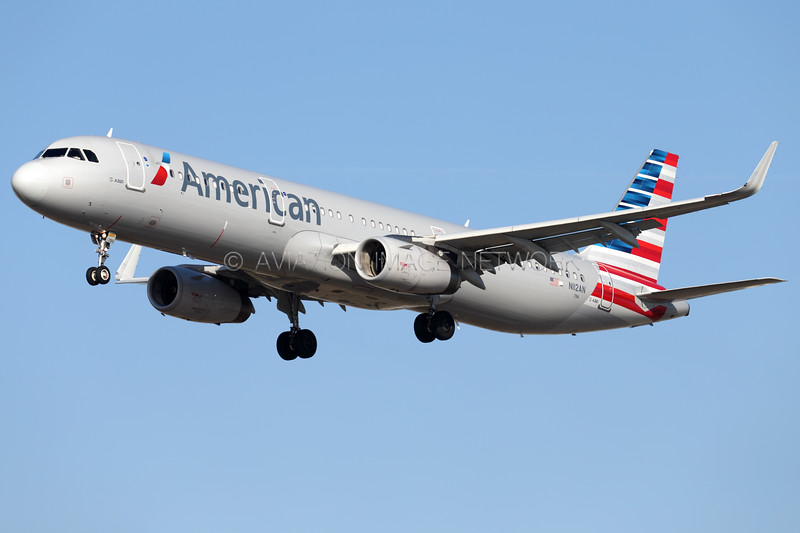 N112AN | Airbus A321-231 | American Airlines