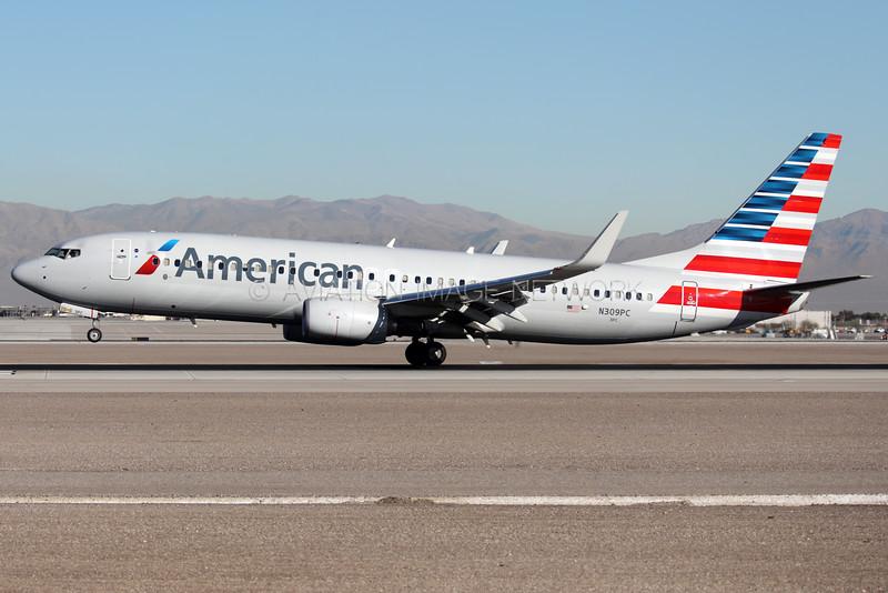 N309PC | Boeing 737-823 | American Airlines