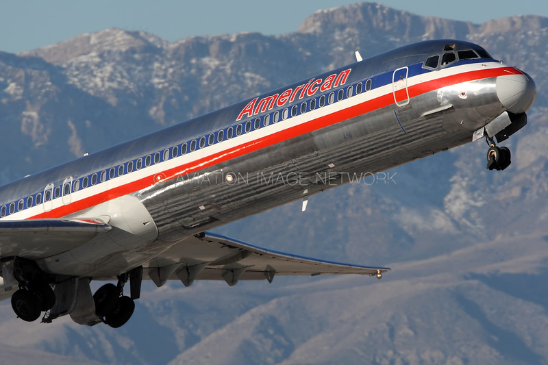 N486AA | McDonnell Douglas MD-82 | American Airlines
