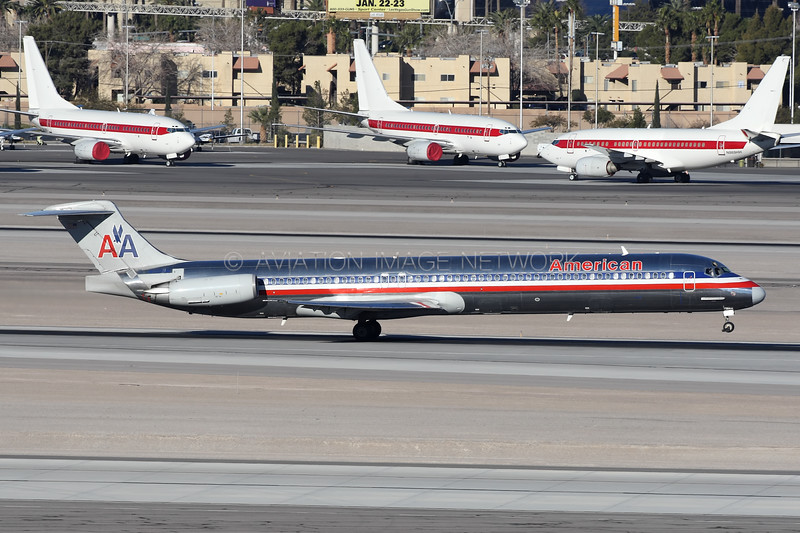 N110HM | McDonnell Douglas MD-83 | American Airlines