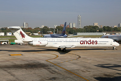 LV-CCJ | McDonnell Douglas MD-83 | Andes Lineas Aereas