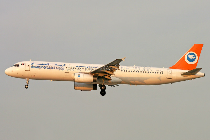 TC-TUC | Airbus A321-131 | Ariana Afghan Airlines