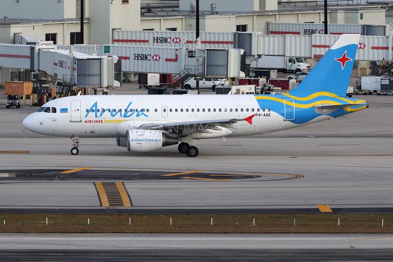 P4-AAE | Airbus A319-111 | Aruba Airlines