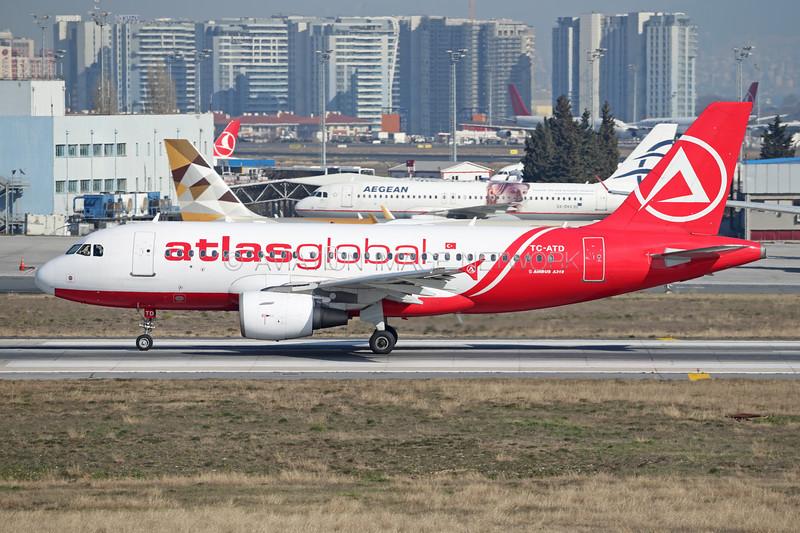 TC-ATD | Airbus A319-112 | atlasglobal
