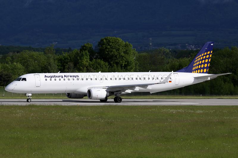 D-AEMD | ERJ-195LR | Augsburg Airways