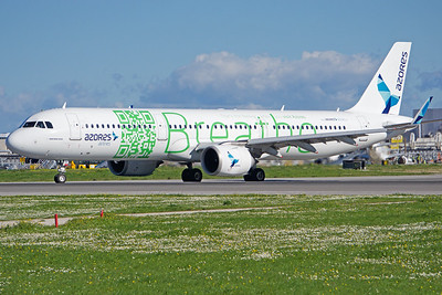 CS-TSF | Airbus A321-253N | Azores Airlines