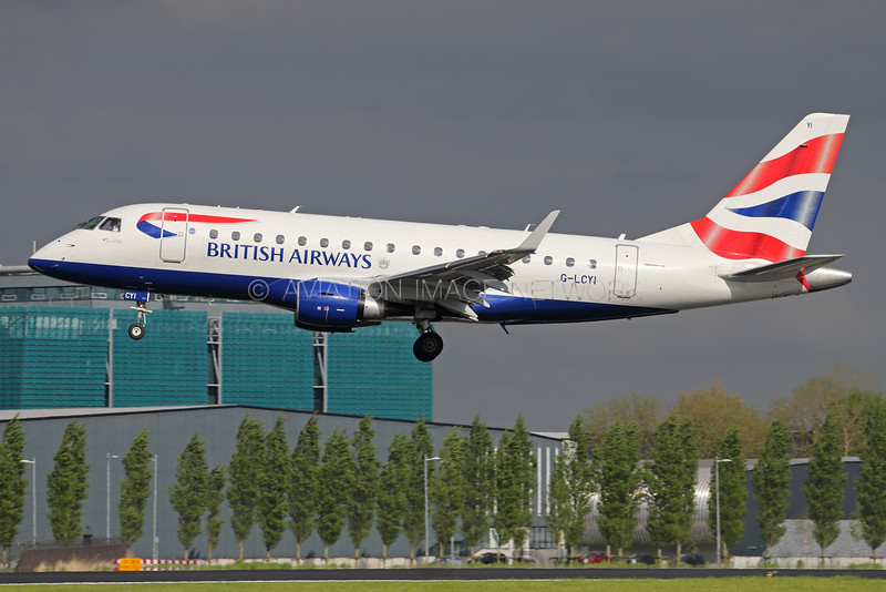 G-LCYI | Embraer ERJ-170LR | British Airways (BA CityFlyer)