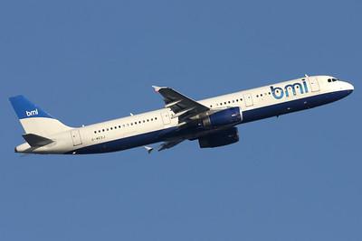 G-MEDJ | Airbus A321-231 | bmi - British Midland