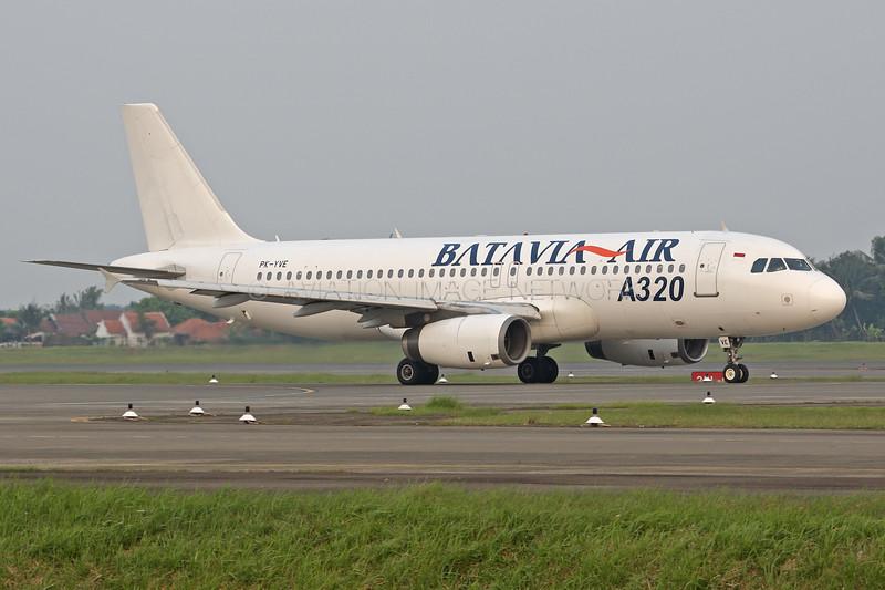 PK-YVE | Airbus A320-231 | Batavia Air