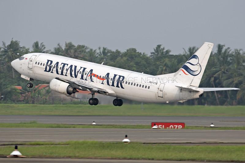 PK-YTK | Boeing 737-4Y0 | Batavia Air