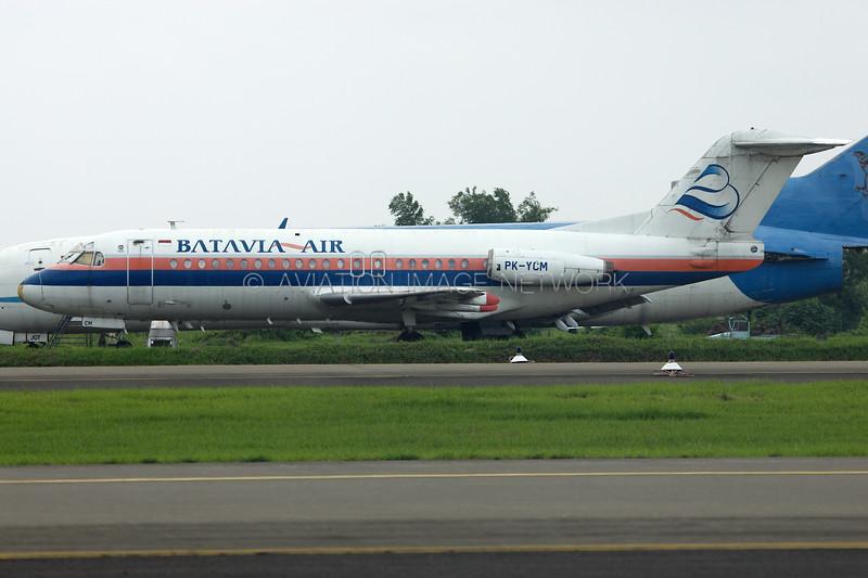 PK-YCM   Fokker F28-4000   Batavia Air