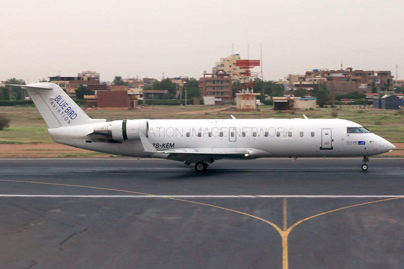 ZS-CEM | Canadair CRJ-100ER | Blue Bird Aviation (Sudan)
