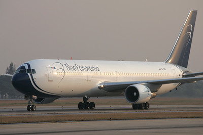 EI-CZH   Boeing 767-3G5/ER   Blue Panorama