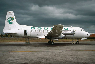 PK-IHJ   Hawker Siddeley HS-748-2A   Bouraq Indonesia Airlines