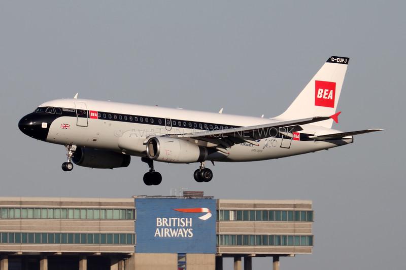 G-EUPJ | Airbus A319-131 | British Airways