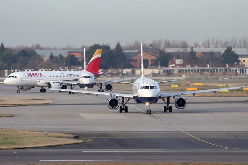 G-EUPM | EC-ILS | A319-131 | Airbus A320-214 | British Airways | Iberia