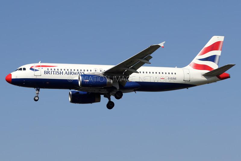 G-EUUC | Airbus A320-232 | British Airways