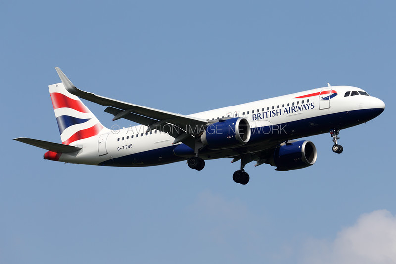 G-TTNE | Airbus A320-251N | British Airways