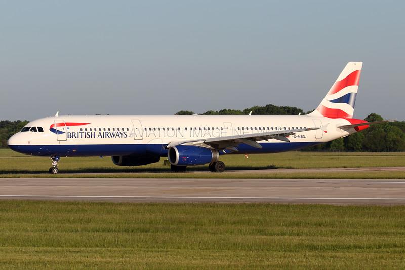G-MEDL | Airbus A321-231 | British Airways