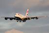 G-XLEC | Airbus A380-841 | British Airways