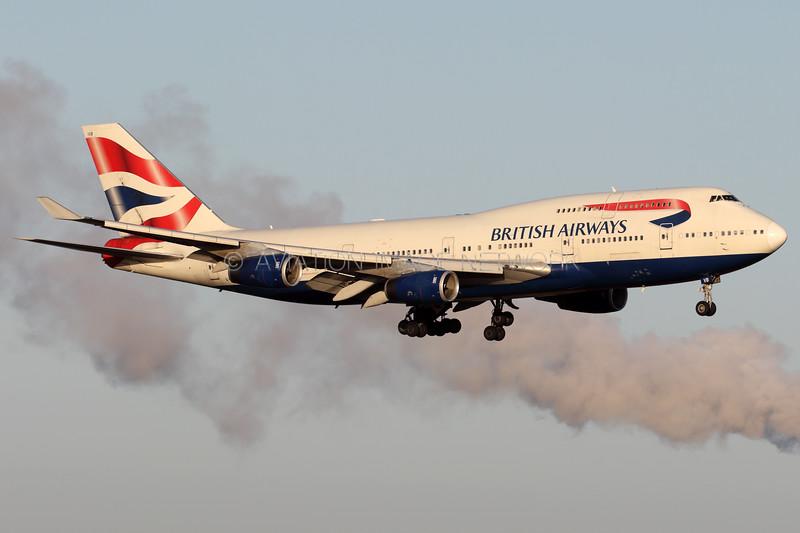 G-CIVB | Boeing 747-436 | British Airways