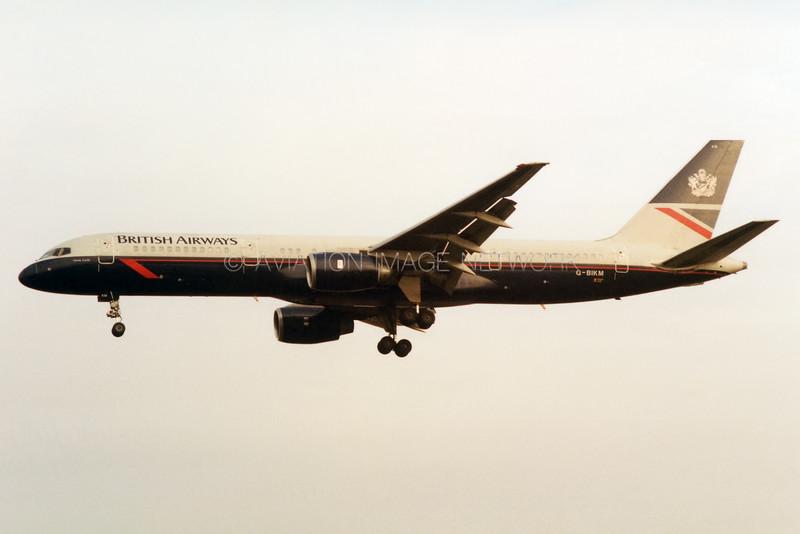 G-BIKM   Boeing 757-236   British Airways