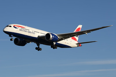 G-ZBJI | Boeing 787-8 | British Airways